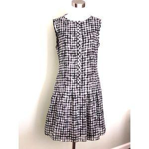 Theory mod style silk dress
